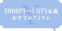 5000円~1万円未満おすすめアイテム