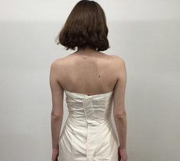 bridalbloom試着ビフォー(後ろ)